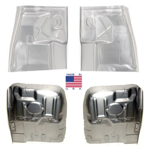 Motor city hi performance floor pan set front and rear for 1981 camaro floor pans