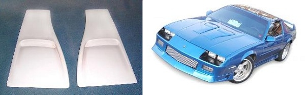 motor city hi performance z28 custom style iroc blisters. Black Bedroom Furniture Sets. Home Design Ideas